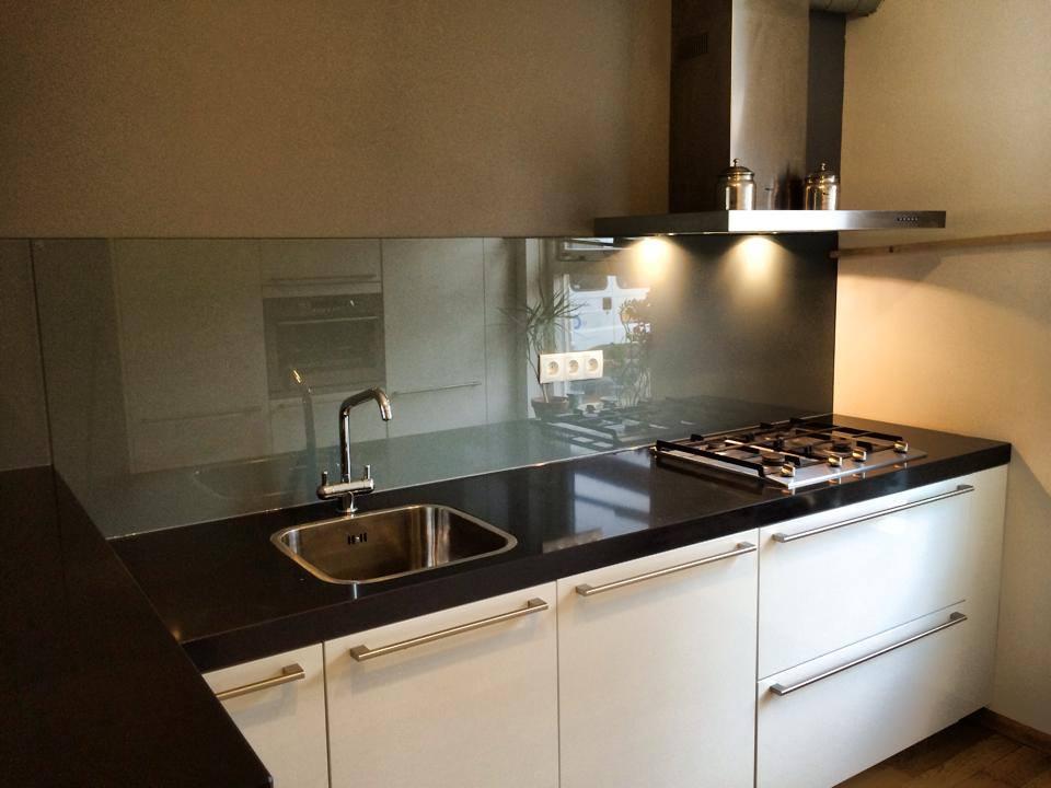 Glazen Achterwand Keuken Rotterdam : Glazen keuken achterwanden dullcon meesters in glas